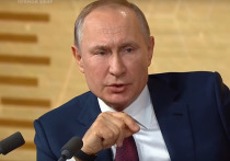 Президент России Владимир Путин заявил в программе «Москва