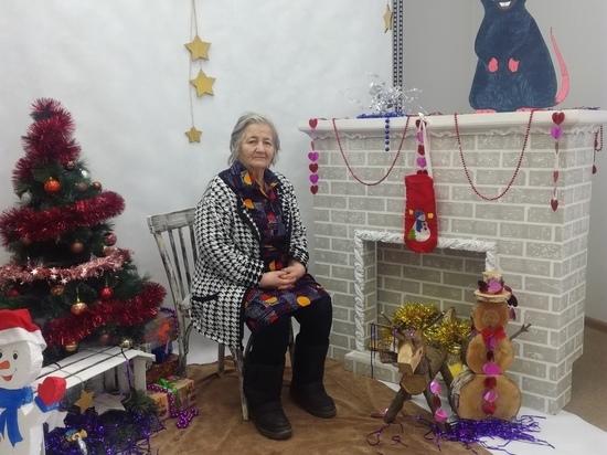 Для подопечных Касимовского центра соцобслуживания устроили новогоднюю фотосессию