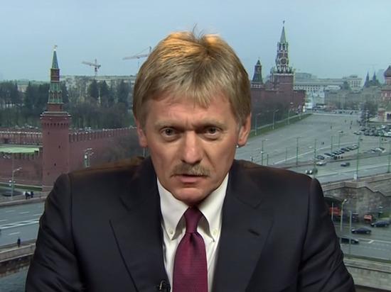 Песков: Россия ответит США на санкции против «Северного потока-2»