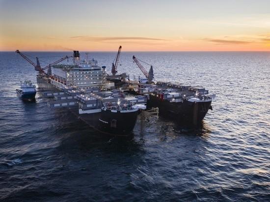 В России прокомментировали приостановку строительства «Северного потока—2»