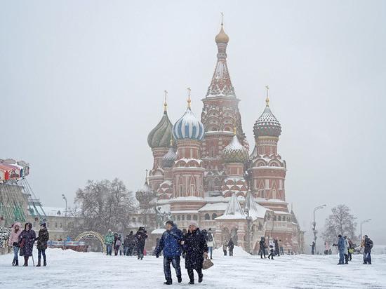 В Москве ждут новогоднего нашествия туристов из Германии