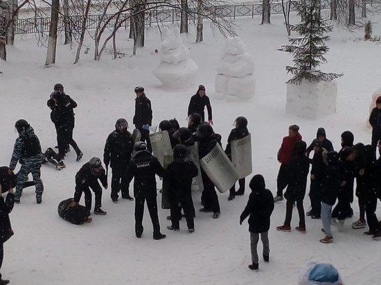 Школьники пожаловались на травмы после учений по разгону митингов в Татарстане