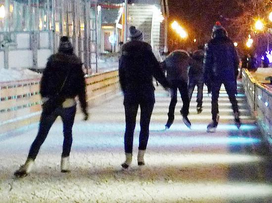 К скандалу с новосибирским катком в форме пениса подключили полицию