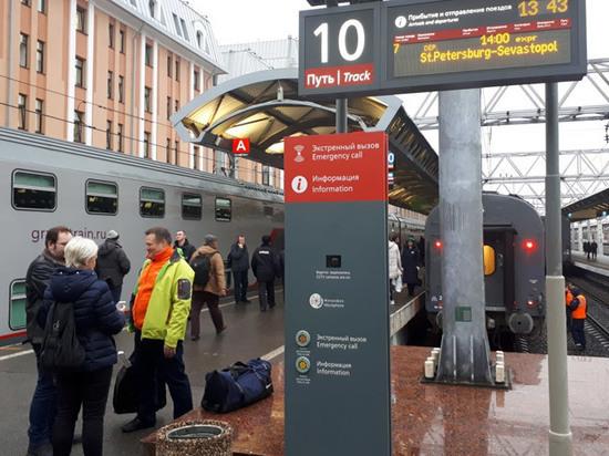 Из Петербурга отправился уникальный поезд