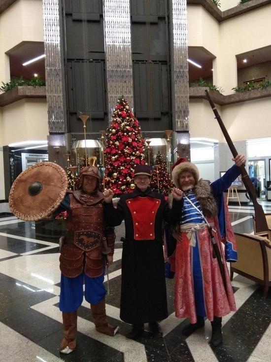 Белоярские казаки приняли участие в заседании Совета по развитию туризма