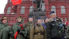 Коммунисты отметили день рождения Сталина торжественным маршем: видео