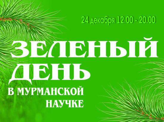 Мурманчан приглашают на «Зелёный день в библиотеке»