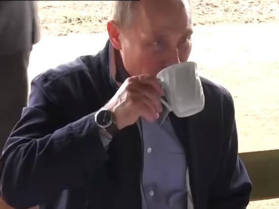 Путин рассказал, что пьет вместо чая и кофе