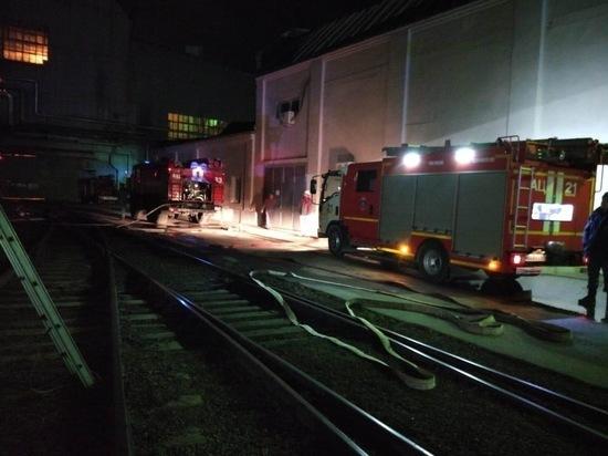 В Таганроге произошел пожар на металлургическом заводе