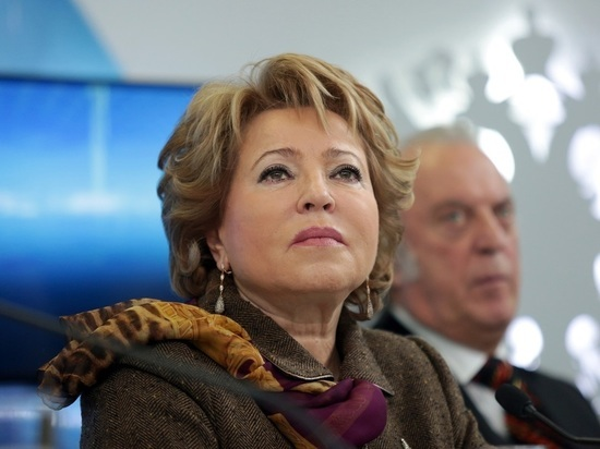 "Матвиенко назвала санкции США против ""Северного потока-2"" апофеозом абсурда"