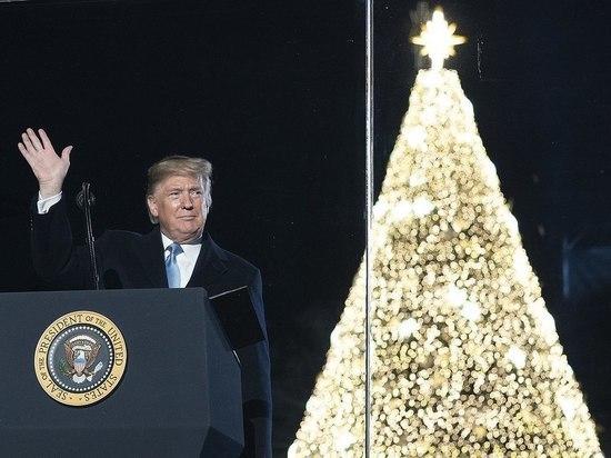 Трамп привлек на помощь Рождество: использовал каникулы в своих целях