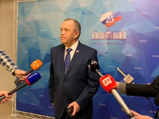 Сергей Дубовой поздравил Мурманскую областную думу с 25-летием
