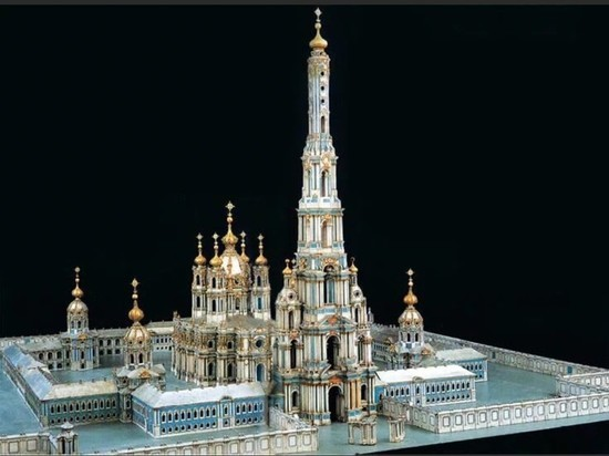 В Петербурге предложили восстановить 168-метровую колокольню Растрелли