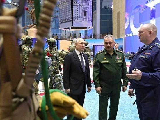 «Гиперзвуковое оружие Путина» прогремело на коллегии Минобороны