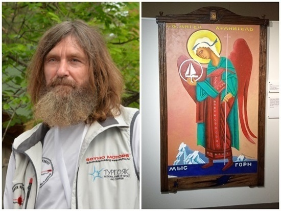 «Ангел оберегающий мою лодку»: в Ростове прошла выставка картин путешественника Федора Конюхова