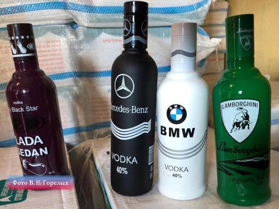Арестованы бутылки Lada Sedan с баклажаном