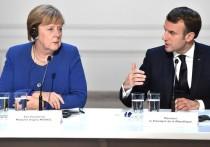 Жители Германии доверяют Меркель меньше, чем Макрону