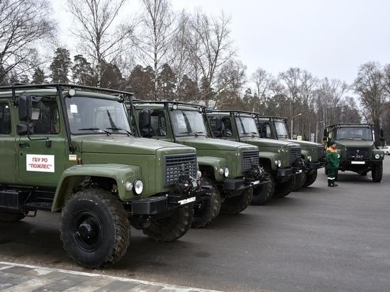 Рязанская лесопожарная служба пополнилась новой техникой