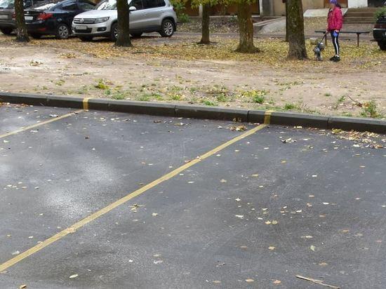 За счет штрафов за неправильную парковку в Костроме будут оборудовать парковочные места