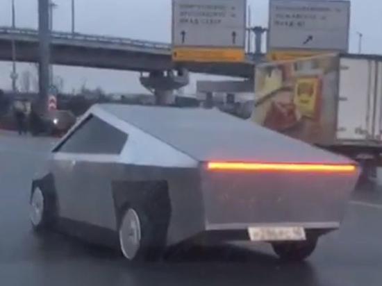 """В Подмосковье продают """"русский Tesla Cybertruck"""""""