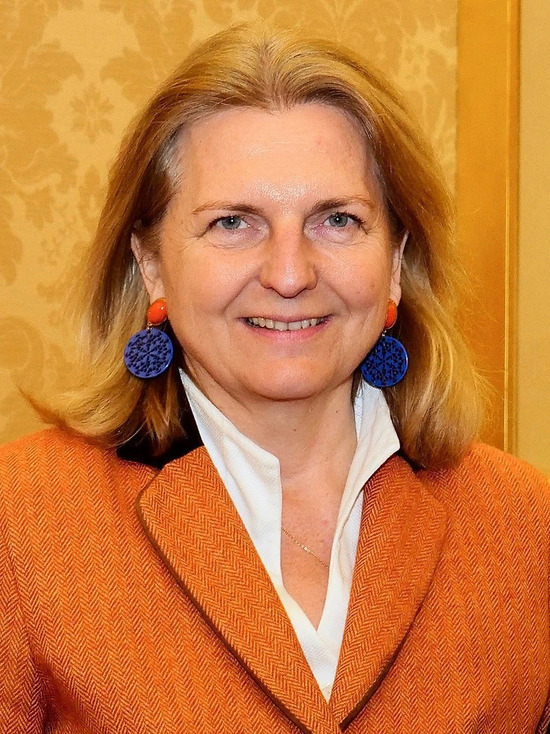 Экс-министр иностранных дел Австрии заявила о