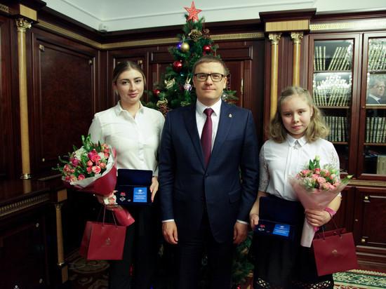 Алексей Текслер вручил награды «Горячее сердце»