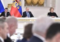 Губернатор Петербурга заснул на Госсовете с Путиным