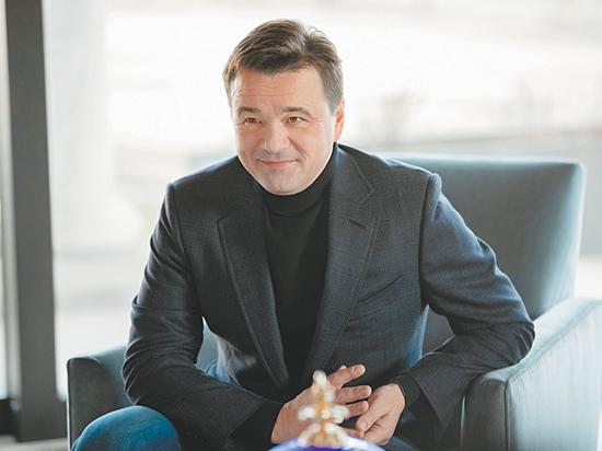 Губернатор Московской области подвел итоги уходящего года в традиционном интервью  главному редактору «МК» Павлу Гусеву