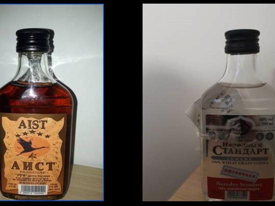 В Израиле нашли поддельные алкогольные напитки