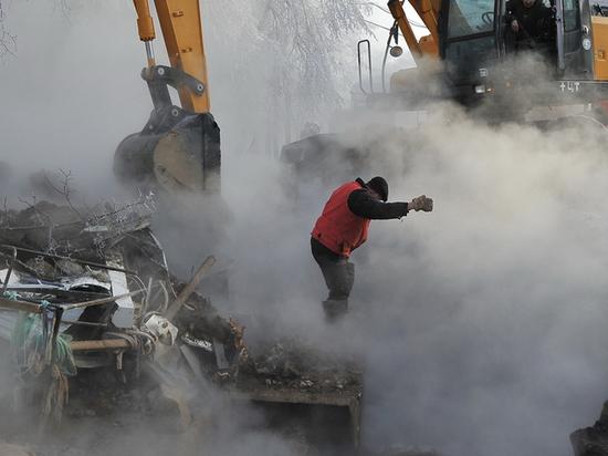 Аварию на теплотрассе в Кокуе ликвидировали ночью в Забайкалье