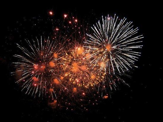 Новогодний салют прогремит на площади Ленина в Чите в 00:45