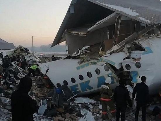 Пассажирский самолет разбился в Казахстане, есть погибшие