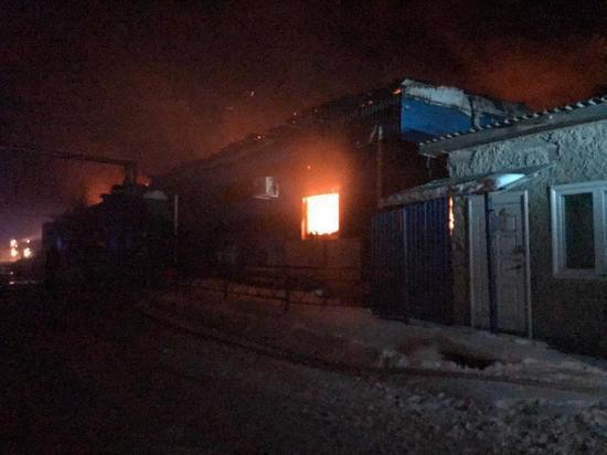 Пожарные спасли 320 коров в Сухом Логу