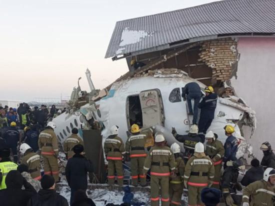 Новые подробности авиакатастрофы в Казахстане: самолет бился хвостом при взлете