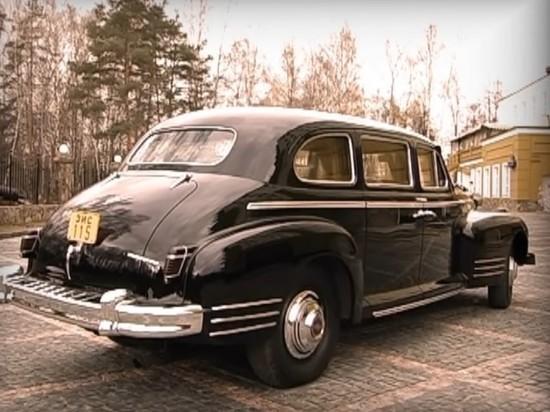 СМИ сообщили о краже в Москве лимузина Сталина