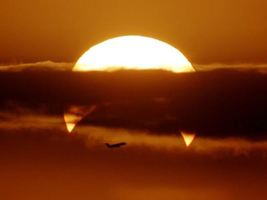 «Знамение конца света»: жутковатый снимок солнечного затмения обсуждают в Сети