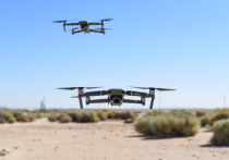 Американские дроны начали летать у границ России парами