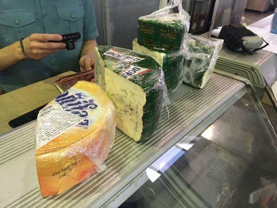 В Твери уничтожат качественный сыр из Европы