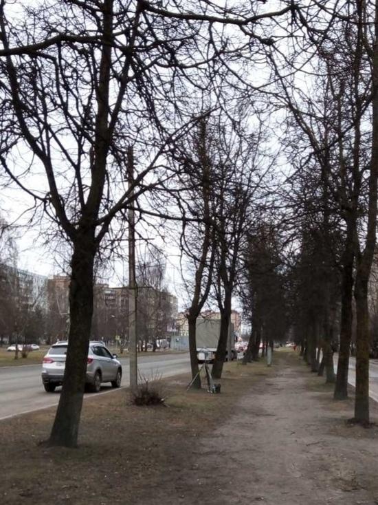 Радар установлен на улице Труда