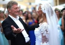 Песков признался, что не видел жену Навку больше месяца
