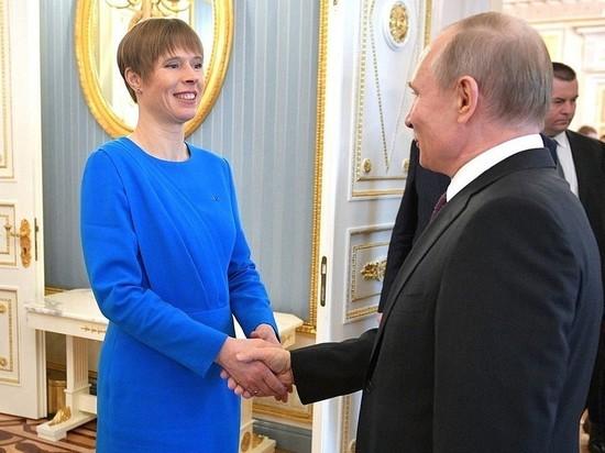 Президент Эстонии заявила, что ее внуки ходят в русский детсад