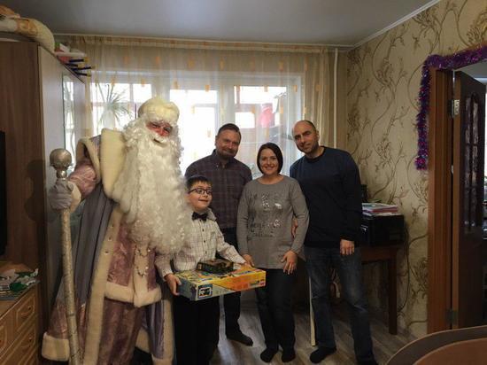 Вице-губернатор Вадим Евдокимов исполнил пожелание 9-летнего Миши