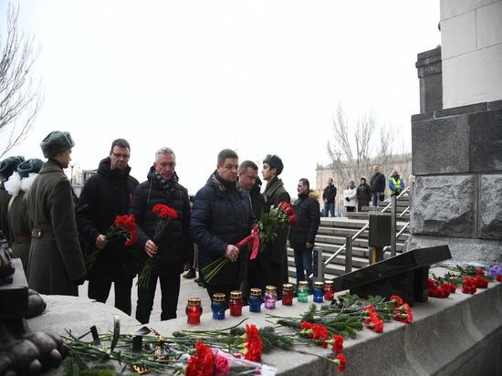 В Волгограде почтили память жертв теракта 2013 года