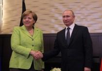 Путин и Меркель обсудили будущее