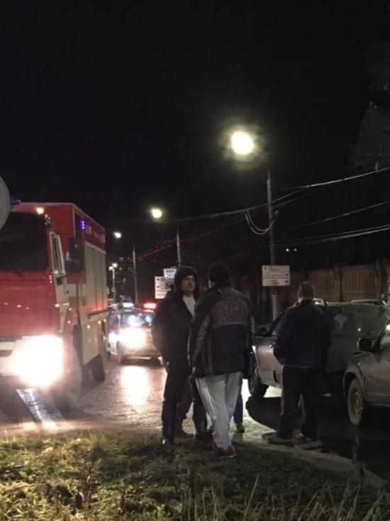 В Иванове столкнулись два автомобиля