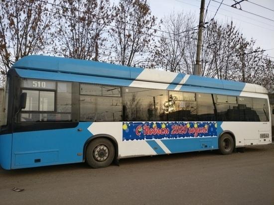 В новогоднюю ночь ивановские троллейбусы будут работать до 23-00, автобусы — до двух часов ночи