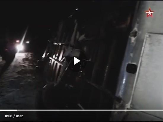 Опубликовано видео с места ДТП под Псковом