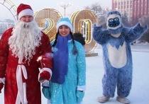 Забайкальский Дед Мороз принял участие в видеомарафоне регионов