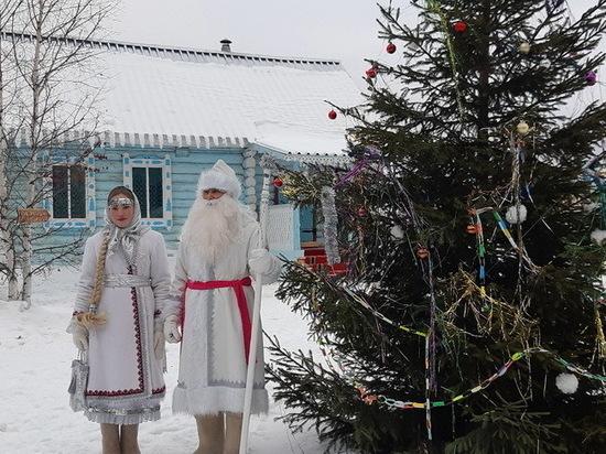 Марийский Дед Мороз поздравил россиян с Новым годом
