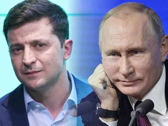 Зеленский и Путин поздравили друг друга по телефону